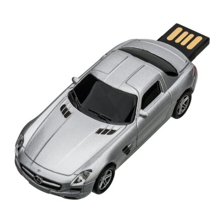 USB flash drive Mercedes Benz SLS 1:72 SILVER 16GB